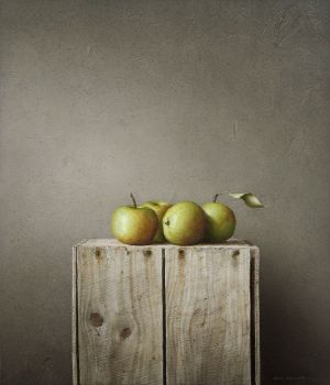 Apples on Box